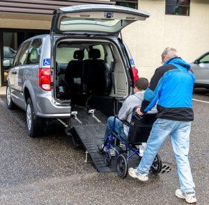 Can Transit wheelchair van